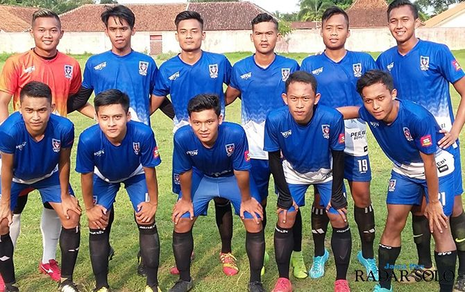 BELUM KOMPLET: Skuad Persebi Boyolali yang siap terjun di ajang Liga 3 2019 zona Jateng.