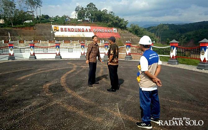 Cek kesiapan kunjungan Presiden Jokowi ke Waduk Gondang