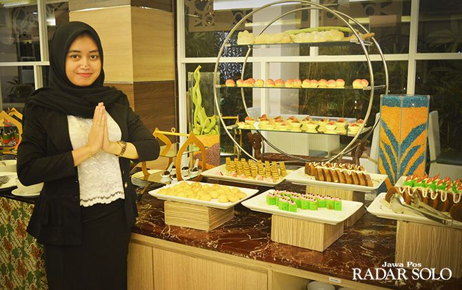 SAMBUT BULAN SUCI: Menu berbuka dengan tema berbeda setiap harinya disiapkan Syariah Hotel Solo