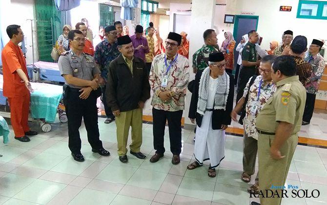 BUKA: Momen pembukaan IGD Rumah Sakit Islam Surakarta (RSIS) sejak Maret awal tahun ini.