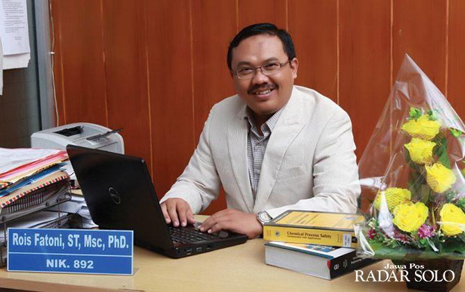 Rois Fatoni, PhD, Dosen Prodi Teknik Kimia Unversitas Muhammadiyah Surakarta