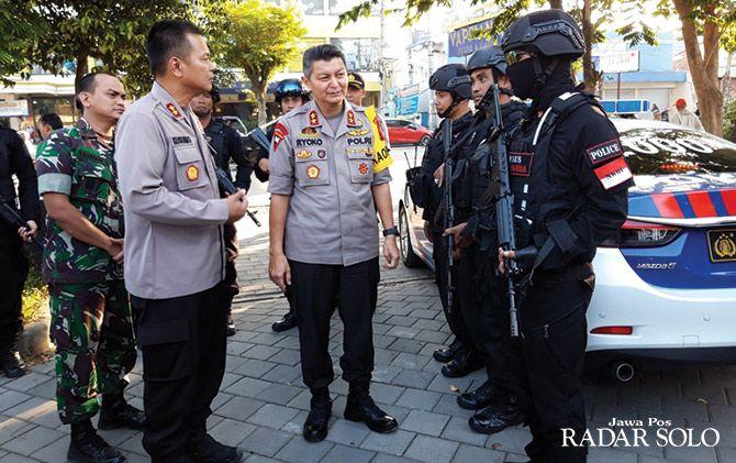 Kapolda Jateng Irjen Pol Rycko Amelza Dahniel mengimbau masyarakat agar tak mudah terprovokasi