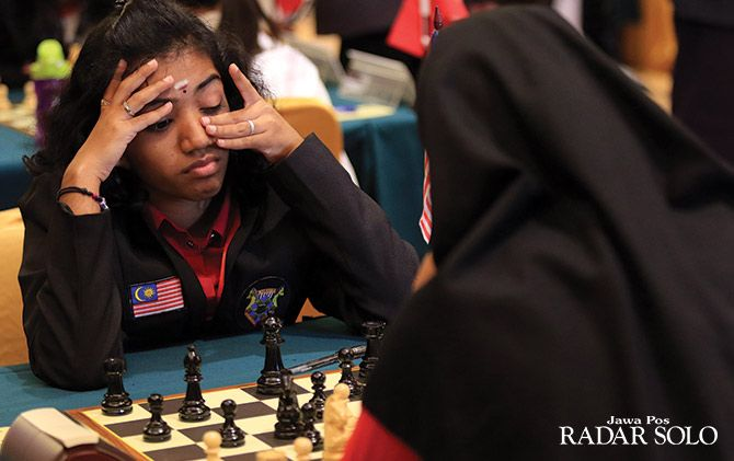 PUSING: Peserta asal Malaysia di ajang Asian Junior Open and Girls U-20 Championship.