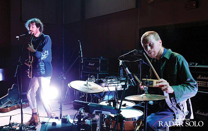 ENERGIK: Perform band asal Belanda Ciao Lucifer di Lokananta, Rabu (3/7).