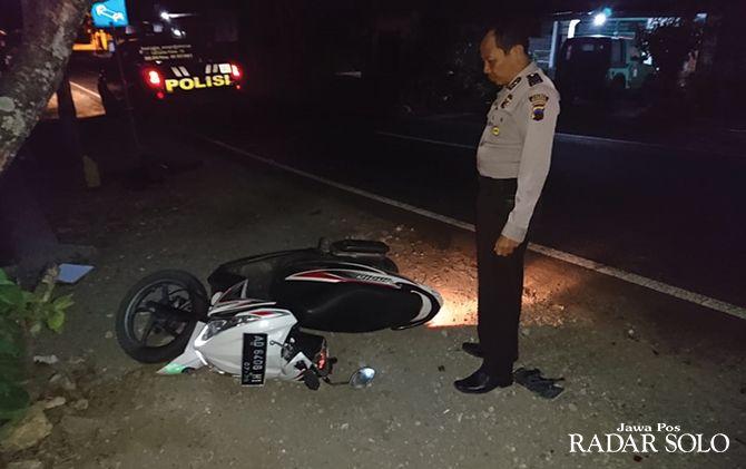 Motor milik korban ditemukan tak jauh dari jasad Suharso