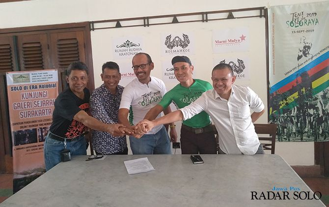 OPTIMISTIS: Tour de Solo Raya 2019 siap digelar 15 September mendatang.