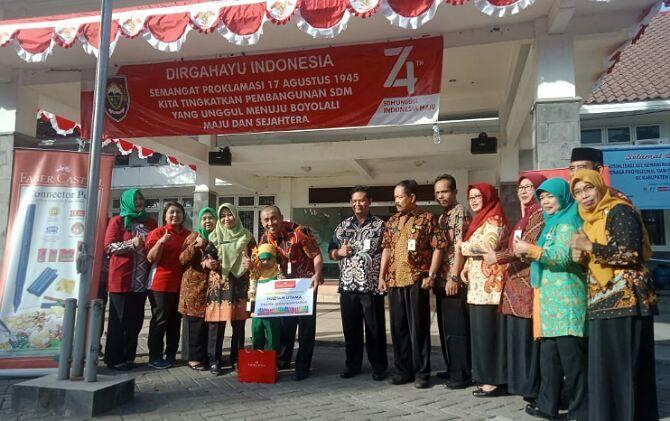 13 Pemenang Family Colouring Competition Nikmati Wisata Indonesia