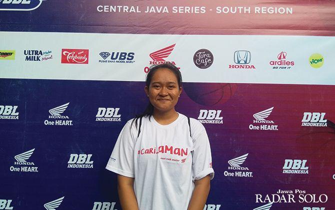 Ayu Sakinah, Forward Tim Basket Putri SMAN 2 Kebumen