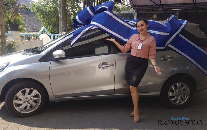 Hadiah utama Panen Hadiah Simpedes berupa satu unit mobil Honda Mobilio
