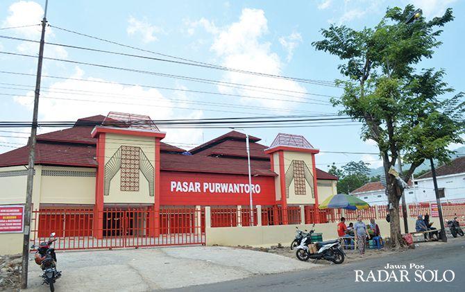 MAKIN NYAMAN: Pasar Purwantoro yang telah selesai direvitalisasi dengan anggaran Rp 50 miliar.