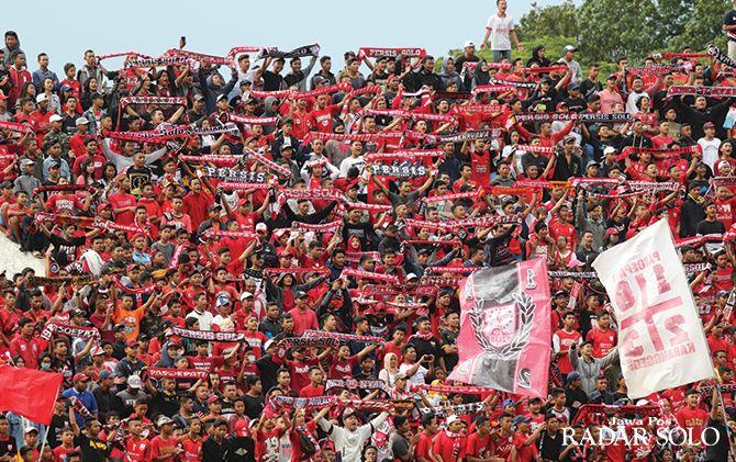 Pasoepati tak akan diberi kuota kursi saat laga Persis Solo lawan PSIM Jogja di Stadion Mandala Krida