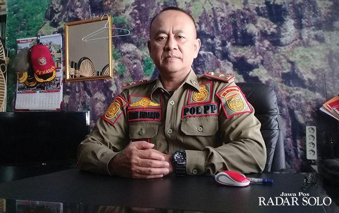 Heru Indarjo, Kepala Satpol PP Sukoharjo