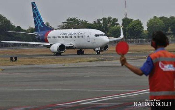 Ilustrasi maskapai Sriwijaya Air
