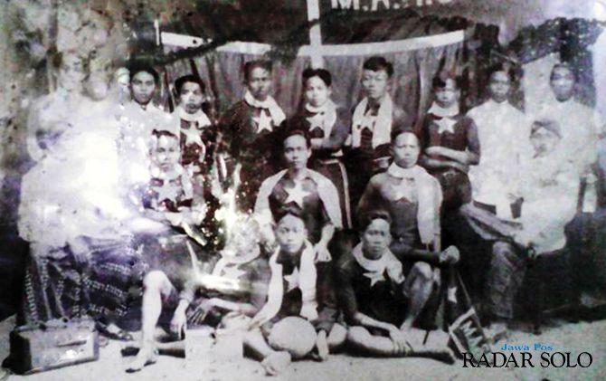 Klub PS Mars yang sudah eksis sejak Indonesia belum merdeka