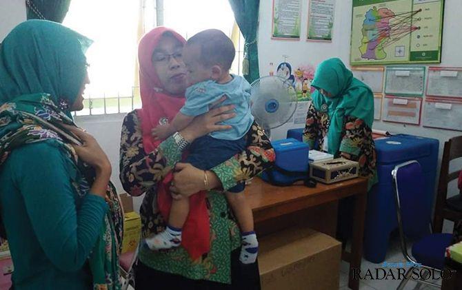 Stok vaksin polio bagi bayi di Wonogiri saat ini masih kosong