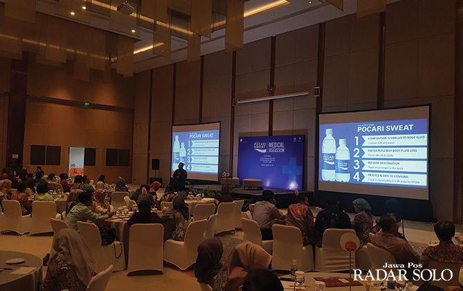JAGA KESEHATAN: Medical Discussion yang digelar Pocari Sweat di HARRIS Hotel, Sabtu (30/11).