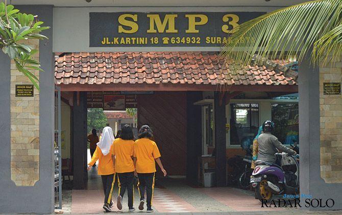 Wali Kota Kukuh SMPN 3 Bedol Desa