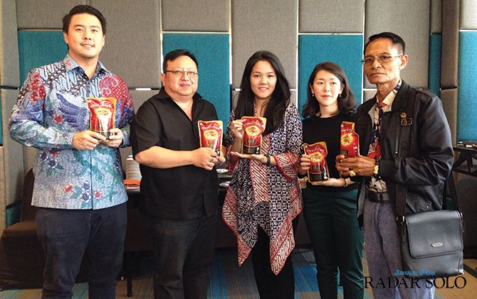 SINERGI: MoU Logan Food dengan distributor di The Alana Hotel and Convention Center-Solo, kemarin (11/12).