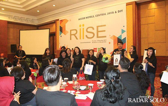 RIISE: Diversitas talkshow di Novotel Solo, Kamis (19/12).