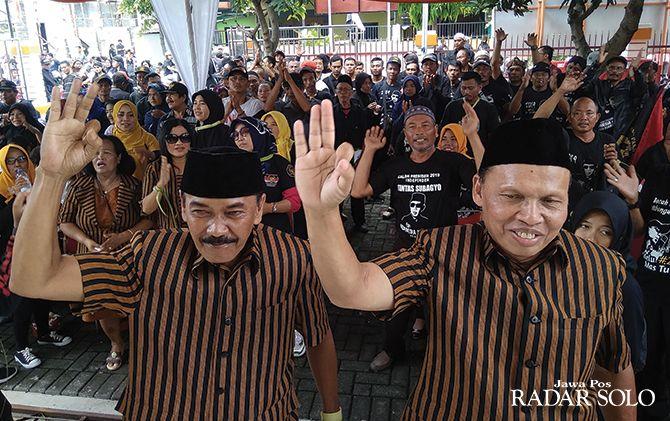 Pasangan bakal calon wali kota-wakil wali kota Surakarta jalur independen Bagyo Wahyono-F.X. Supardjo