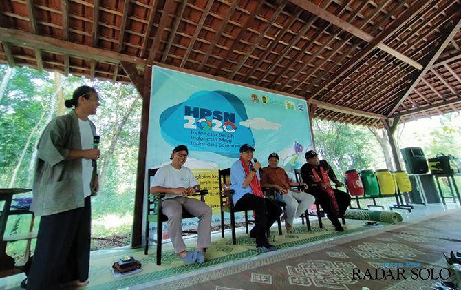 MOTIVASI - Talk show yang diadakan dalam rangka memperingati Hari Peduli Sampah Nasional (HPSN) 2020 dan pemenang lomba bersih desa se-Kecamatan Polanharjo.