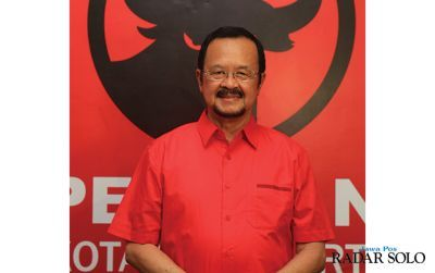 Wakil Wali Kota Surakarta sekaligus bakal calon wali kota Achmad Purnomo.