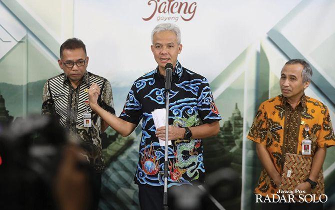 Gubernur Jateng Tetapkan Tanggap Darurat Korona