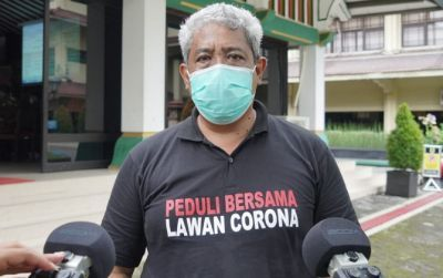 Juru Bicara Gugus Tugas Pencegahan dan Pengendalian Covid-19 Kabupaten Klaten Cahyono Widodo