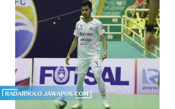 Zakariyya Anwar saat berseragam Cosmo FC di Pro Futsal League (PFL) 2020.