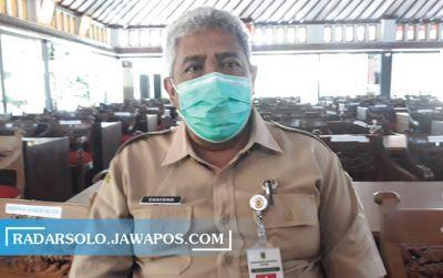 Juru Bicara Gugus Tugas Pencegahan dan Pengendalian Covid-19 Kabupaten Klaten Cahyono Widodo.