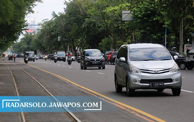 Arus lalu lintas di jalan-jalan Kota Solo berpotensi meningkat akhir pekan ini.