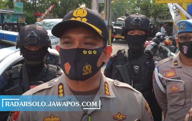 Kapolresta Surakarta Kombes Pol Ade Safri Simanjuntak.