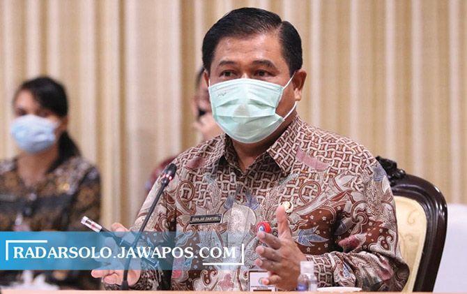 Plt Sekretaris Badan Nasional Pengelola Perbatasan Suhajar Diantoro.