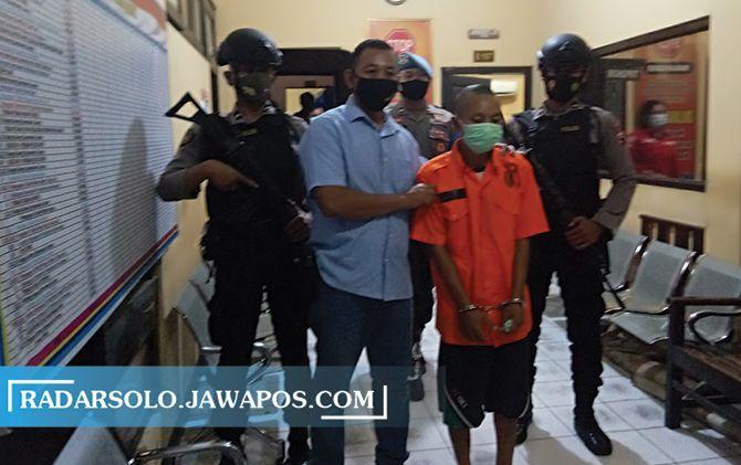 Predator anak asal Kedawung, Indrawan diamankan polisi.