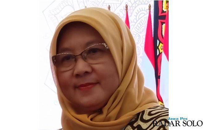Kepala Disdik Kota Surakarta Etty Retnowati.