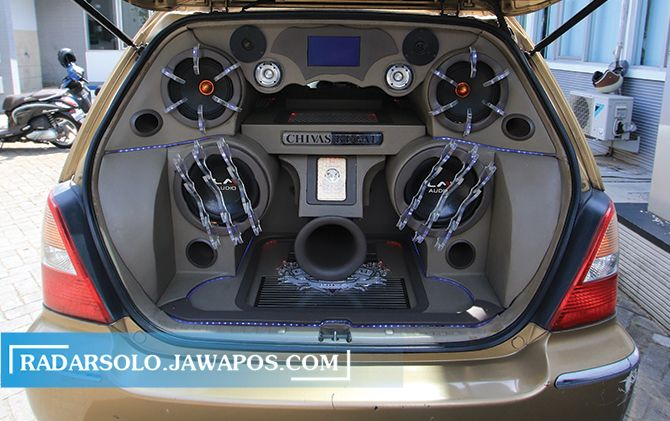 Modifikasi Honda Odyssey 2000, Sound Quality is Priority