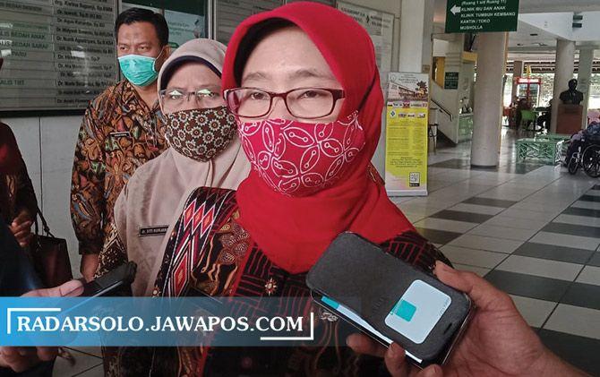 Juru Bicara Satuan Tugas Percepatan Penanganan Covid-19 Kabupaten Sukoharjo Yunia Wahdiyati.