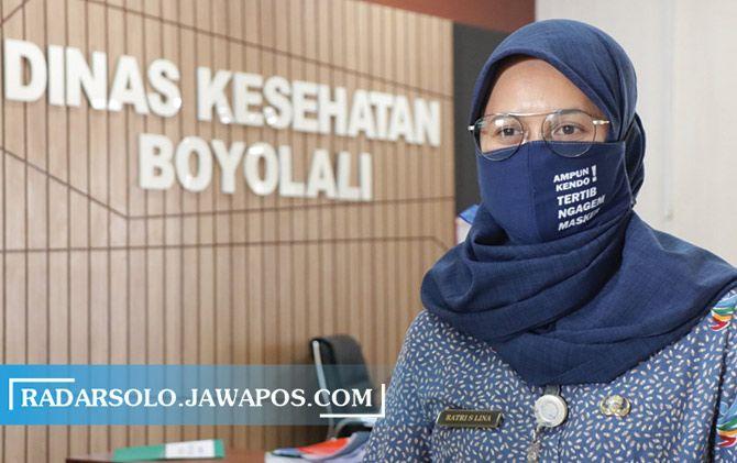 Kepala Dinkes Kabupaten Boyolali Ratri S. Survivalina.
