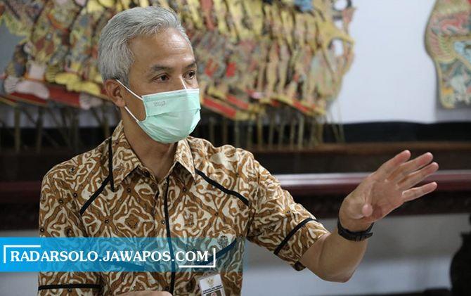 Gubernur Jateng Ganjar Pranowo meminta seluruh masyarakat dan pemerintah daerah mewaspadai potensi bencana.