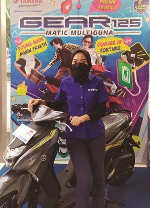 Penjualan Yamaha Nmax dan GEAR 125 tinggi di tengah pandemi.