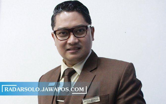 Pejabat Humas Persatuan Hotel dan Restoran Indonesia Solo Sistho A. Srestho,