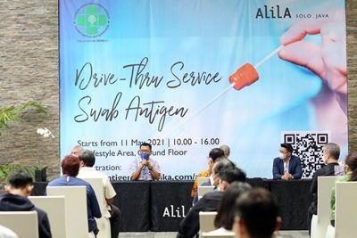 LAYANAN SEPENUHNYA: Alila Solo Bekerjasama dengan RS Dr.Oen Surakartasediakan layanan Swab Antigen.