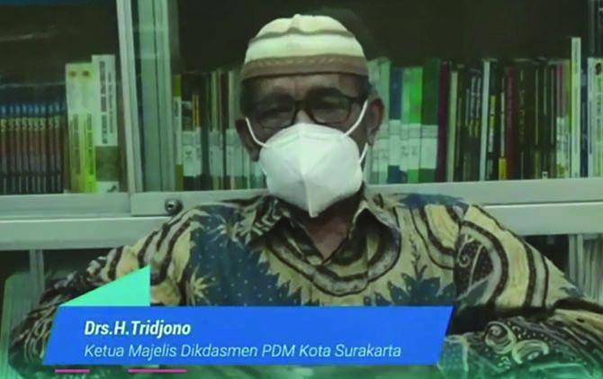 Ketua Majelis Dikdasmen PDM Kota Surakarta Trijono