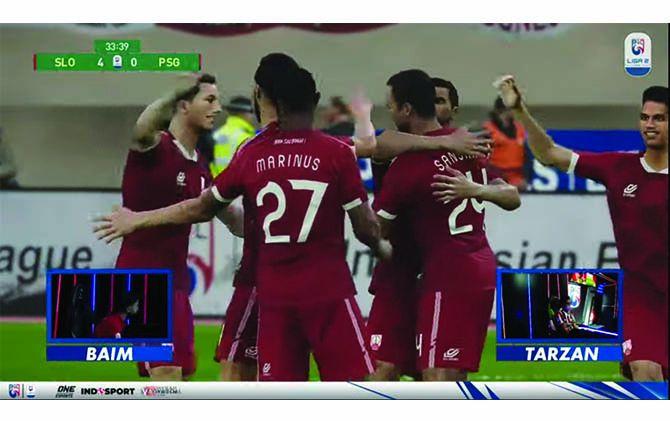 SERU: Laga Persis Solo kontra PSG Pati di ajang Liga 2 Indonesian Football e-League (IFeL) 2021