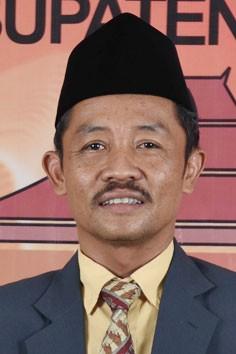 Zainal Abidin ketua KPU Sidoarjo.