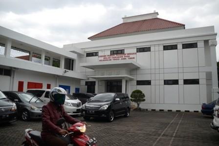 AMAN: Rumah Tahanan (Rutan) Kejaksaan Tinggi Jawa Timur Cabang Klas I Surabaya di kantor Kejaksaan Tinggi Jawa Timur.