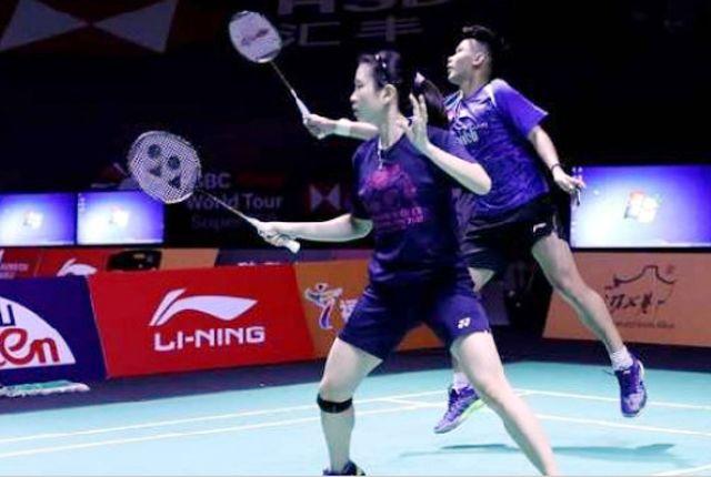 Lolos: Rinov Rivaldi dan Debby Susanto melaju ke babak kedua turnamen China Open 2018