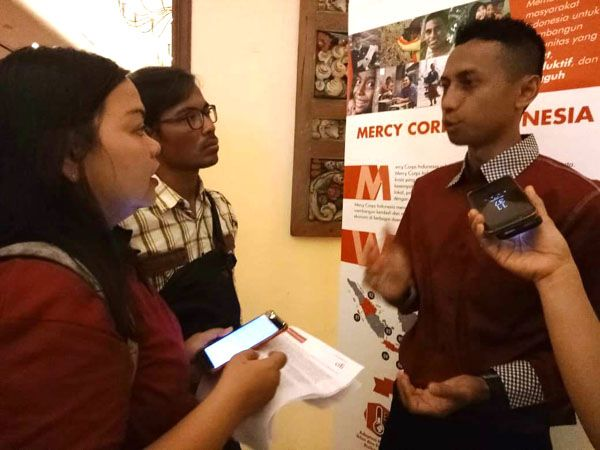 BINAAN: Siswanto, pengusaha tiwul instan istimewa dari Malang.