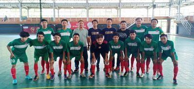 BERJUANG: Tim Bolamania FC sedang bertanding untuk mengharumkan nama klub dan Gresik dalam ajang LFN 2018.