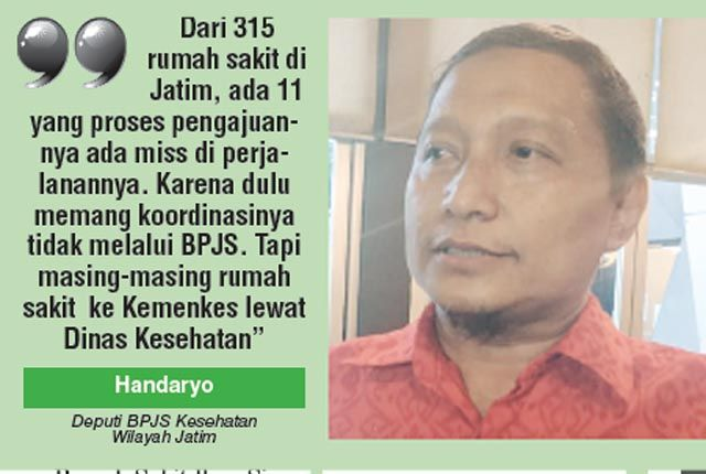 Deputi BPJS Kesehatan Wilayah Jatim Handaryo